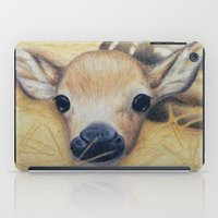 bambi iPad Cases featuring Bambi by Erin Schamberger
