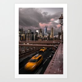 View of NYC Art Print