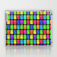 Pixel Gummy Bears Laptop & iPad Skin