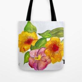 Hibiscus Flowers Tote Bag