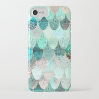 iPhone Cases featuring SUMMER MERMAID by Monika Strigel®