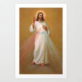 Divine Mercy - Divina Misericordia Art Print