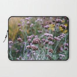 Purple Verbena flowers Laptop Sleeve