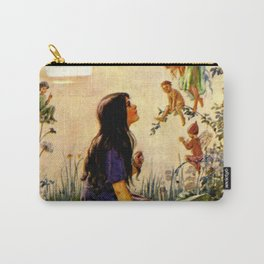 """""""Vintage Fairies' by Margaret Tarrant Carry-All Pouch"""