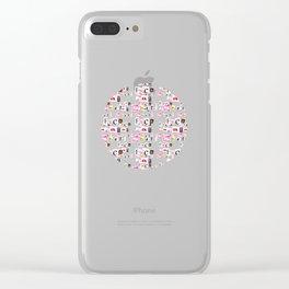 FDS black Clear iPhone Case