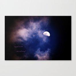 Mark's Moon #152 Canvas Print