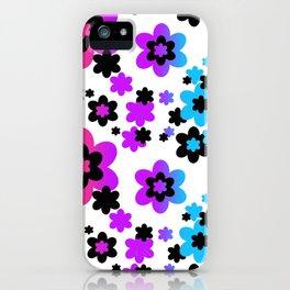 Rainbow Flowers iPhone Case