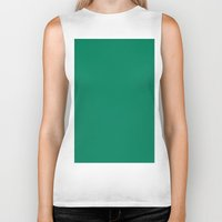 spanish Biker Tanks featuring Spanish viridian by List of colors