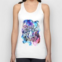 marc Tank Tops featuring Marc Bolan - Cosmic Dancer by FlowerMoon Studio