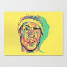 There's some highlighter in my eye Canvas Print