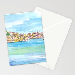 Blue Mediterranean Island Dreams Elba Italy Portoferraio Stationery Cards