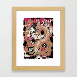 MOLLY'S NIGHTMARES Framed Art Print