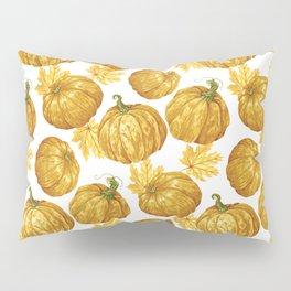 Harvest Season Pumpkins' Pattern Pillow Sham