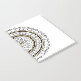 Golden Mandala Notebook