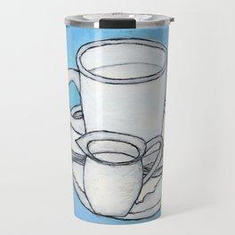 coffee and spoon Travel Mug