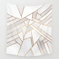 White Night Wall Tapestry