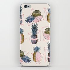 NEW geometric, pineapple!! iPhone Skin