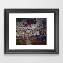 Structures Framed Art Print