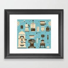 Coffee Paraphernalia   Framed Art Print