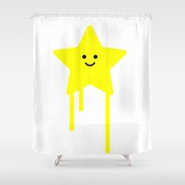 Happy star Shower Curtain