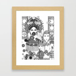 Chinese People Framed Art Print