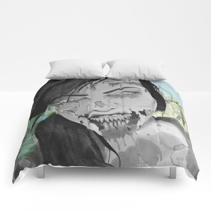 Queen zombie Comforters