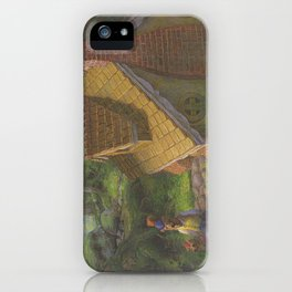 The Three Bears House iPhone Case
