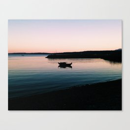 Home for the night Canvas Print
