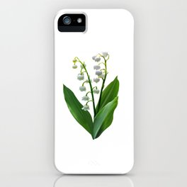 Lily of the Valley Floweret iPhone Case