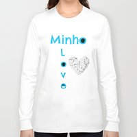 shinee Long Sleeve T-shirts featuring Minho - SHINee Edited Made By Laylalu Celis by Layla Who