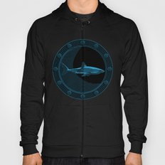 Engraved Shark Hoody