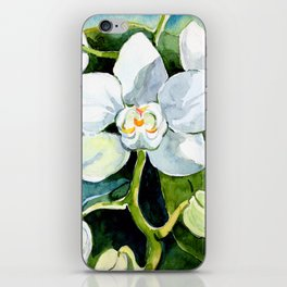 Key West Orchids iPhone Skin