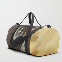 Buddha Hand Illustration Duffle Bag