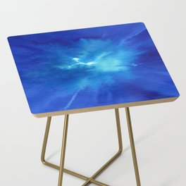 Blue Powder Side Table