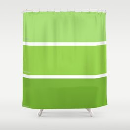 New Green Shower Curtain