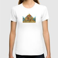 crown T-shirts featuring CROWN by TANGRAMMAR
