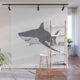 Great White Shark Wall Mural