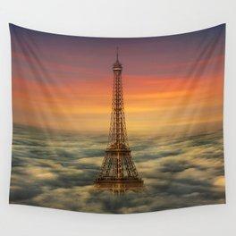 Sous Le Ciel De Paris Wall Tapestry