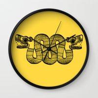 aztec Wall Clocks featuring Aztec by Estelle F