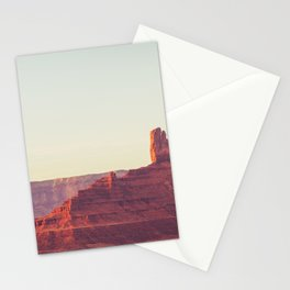 Monument Valley Sunset View Stationery Cards