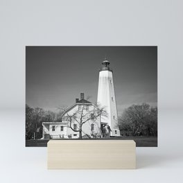 Sandy Hook Lighthouse Mini Art Print