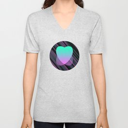 Two Hearts IV Unisex V-Neck