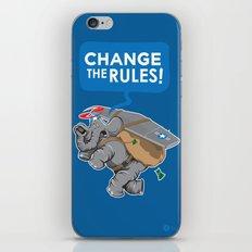 CHANGE The RULES iPhone & iPod Skin