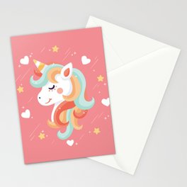 Cutest Unicorn Ever Stationery Cards