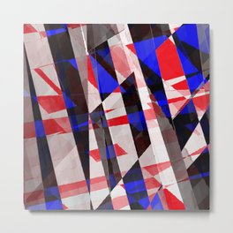 pop abstract Metal Print