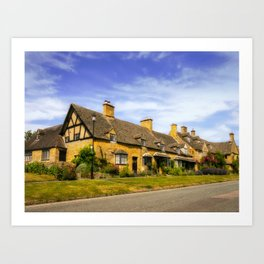 Alluring Cotswolds. Art Print