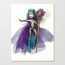 Dark Summoner Spectra doll Canvas Print