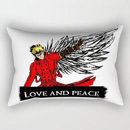 love and peace Rectangular Pillow