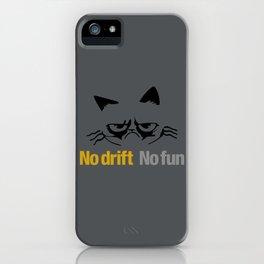 No drift No fun v1 HQvector iPhone Case