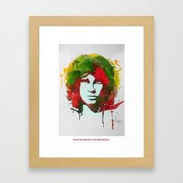 JimMorrison  Framed Art Print